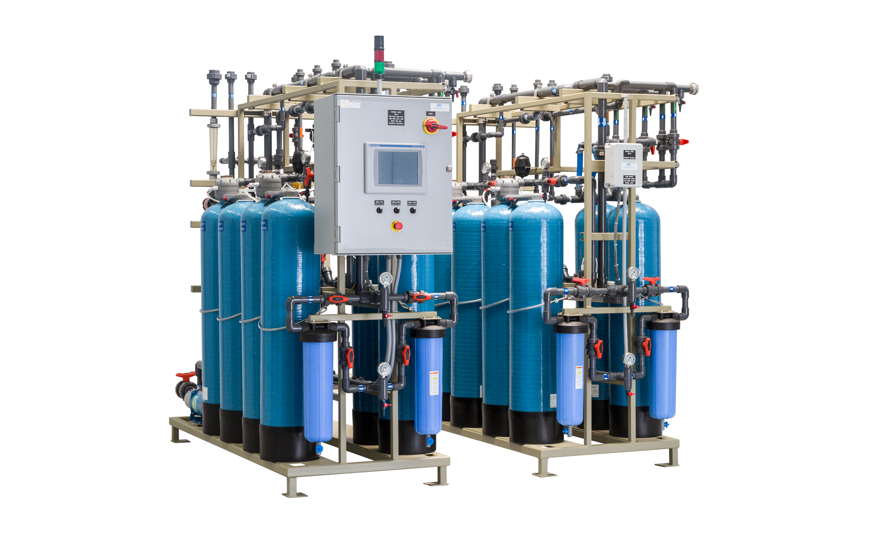 Industrial Water Recycling Systems Ion Exchange Systems