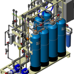 Complete Ion Exchange System_right Side_CIX1000S_3D