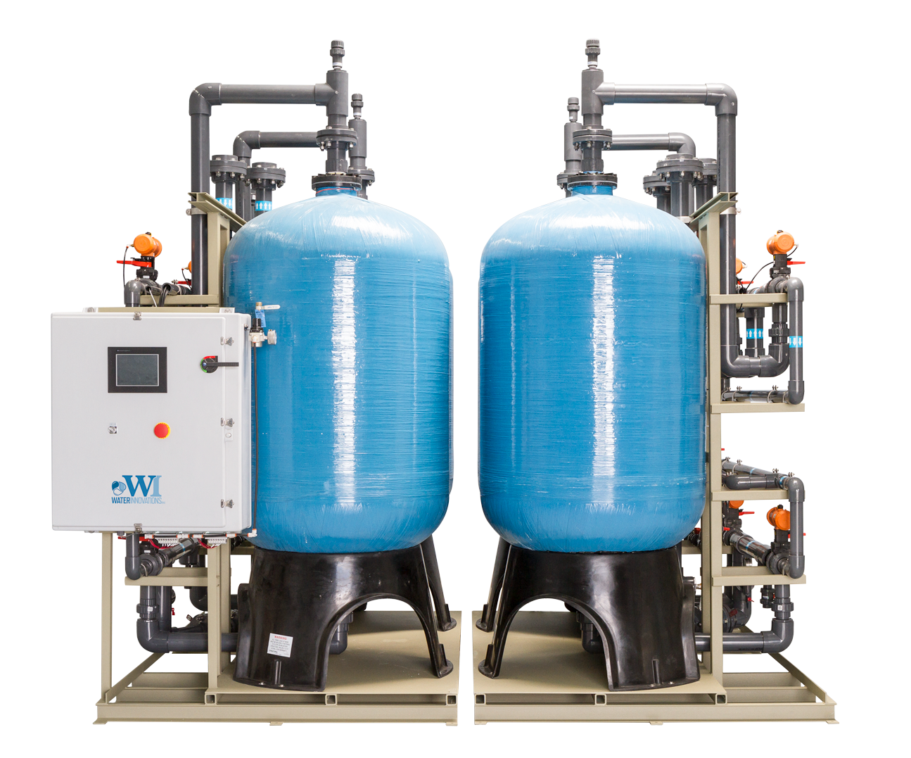Industrial Water Recycling Systems Ion Exchange Water
