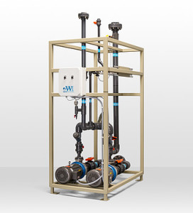 High Flow Ion Exchange_HFX DI Supply Pump Skid