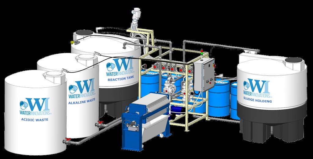 Industrial Wastewater Treatment Batch Waste Water